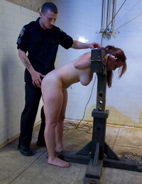 Dearest Bella Rossi and Mason Moore are shackled while being disciplined