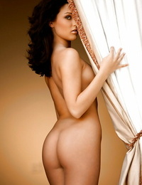 Tongues honey with extraordinaire bent Rainy Day Jordan posing naked