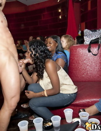 Wild bellowing with jaw-dropping bods do oral jobs to a dancing endure on a soiree