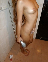 Slim That chick Kie receiving jizz shot on platinum-blonde after POV fucking of mouth to mouth vagina