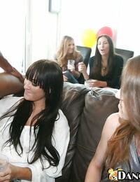 Huge titty latina honeys are having joy at a butt cheeks party