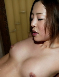 Puny asian coed gets her beaver fingerblasted and cocked up gonzo