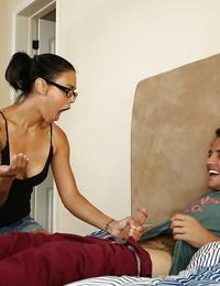 Dana Vespoli chooses working with yummy daggers and giving sucks