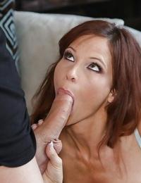 Undressing action with a beautiful cougar mummy Syren De Mer doing butt cheeks