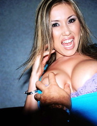 Asian MILF Kianna Dior enjoyments a shaft with her mouth and fat hooters