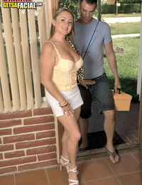 Wild MILF Tyra Enjoy picks up a guy doing some fishing for a firm fuck