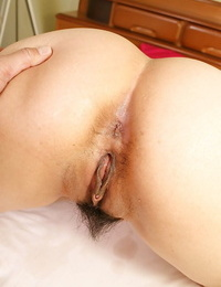 Curvy asian MILF Kumiko Yasue gobbles a firm cock and gets shafted firm