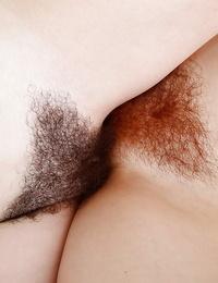 Sadism lesbian lovers Lily Cade and Emma Evins slurping nut and scissoring