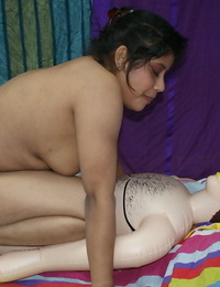 Fine Indian female Rupali has sexual relations with her hook-up female