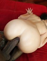 Hardcore butt fuck featuring an amateur Asian babe Asa Akira and a black man