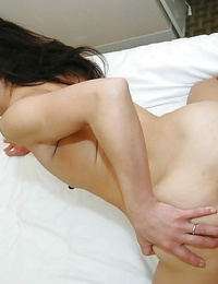 Asian MILF Mariko Yoshizawa gets bitchy and takes a cumshot on her eager face