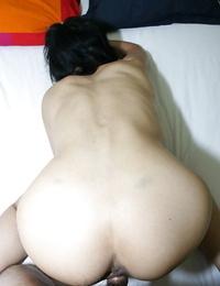 Asian MILF Aya Sakuma gets her shaggy beaver ate and slammed