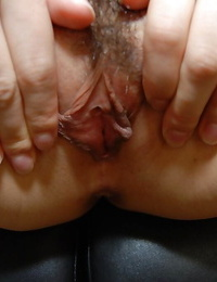 Asian woman Satomi Fujiki gets naked and likes cunt toying action