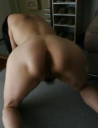 Asian MILF Miki Ohnuma stimulates her hairy cunt and loves xxx fucking