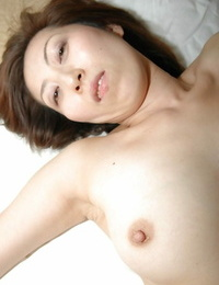 Slutty asian MILF capture a fuck-stick and gets her hairy twat shagged