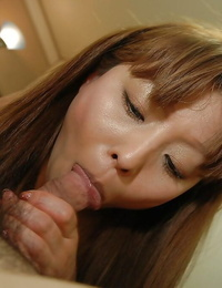 Hiromi Shibutani gets her wooly pussy sated with sex fucktoys and firm hard-on