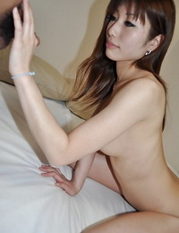 Asian lady Kaoru Fujitani gets her shaved pussy boned-up and creampied