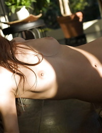 Delicious asian honey Shinohara Ryou uncovering her diminutive curves