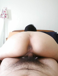 Saucy asian MILF Ayano Nagasawa gives head and gets her hairy beaver drilled