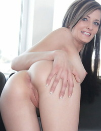 Casting cutie Lia Lynn is demonstrating her awesome cute asshole