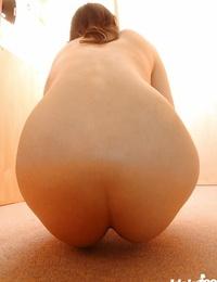 Inexperienced asian honey Takako Kitahara gliding off her underwear