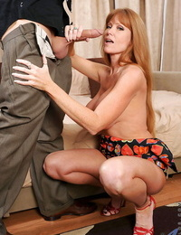 Foxy Darla Crane seduced lusty handsome man and gave him fantastic butt-cheeks right before she got fucked.