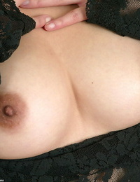 Mouthy asian amateur taking off her underwear and uncovering her bushy pictures