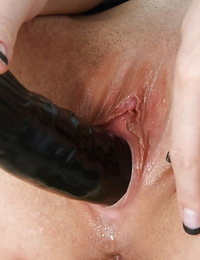 Horny honey Roxy Taggart is toying with her astounding playthings