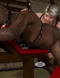 Unspicious inn proprietor grandma turn into a perverted domme - part 16