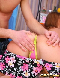 3d pornography gallery of redhead bombshell getting her nut sack jammed with cock - part 273