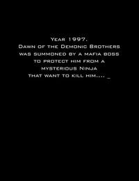 Demonic Brothers - Strike Series 1 - Ninja