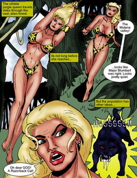 The Erotic Adventures Of Jungle Babe 1 - part 2