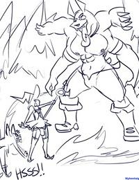 Aoi-Quest 1 - Tale Of The Pent up Trap - part 2