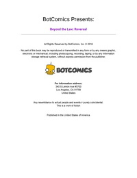 Bot- Beyond The Law – Reversal Issue 8