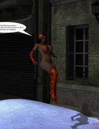 Solar Woman with Xmas Gremlens – MrBunnyArt