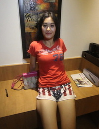 Asian amateur screws a lovemaking tourist in POV mode in his hotel backsides