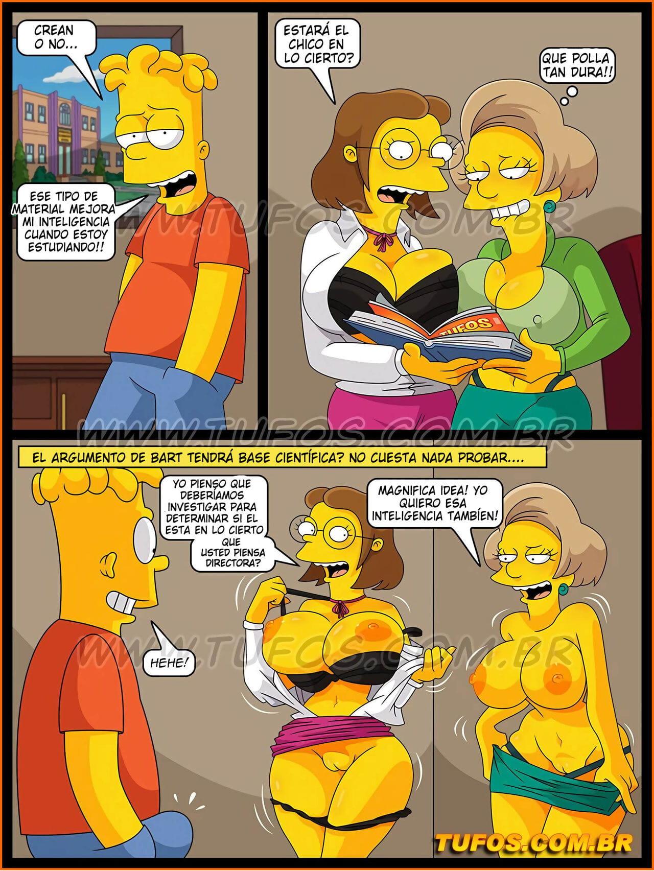 Comic die simpsons porno free simpsons