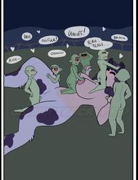 CorruptedCryptid Annebelles Ass-munching + Mini comics