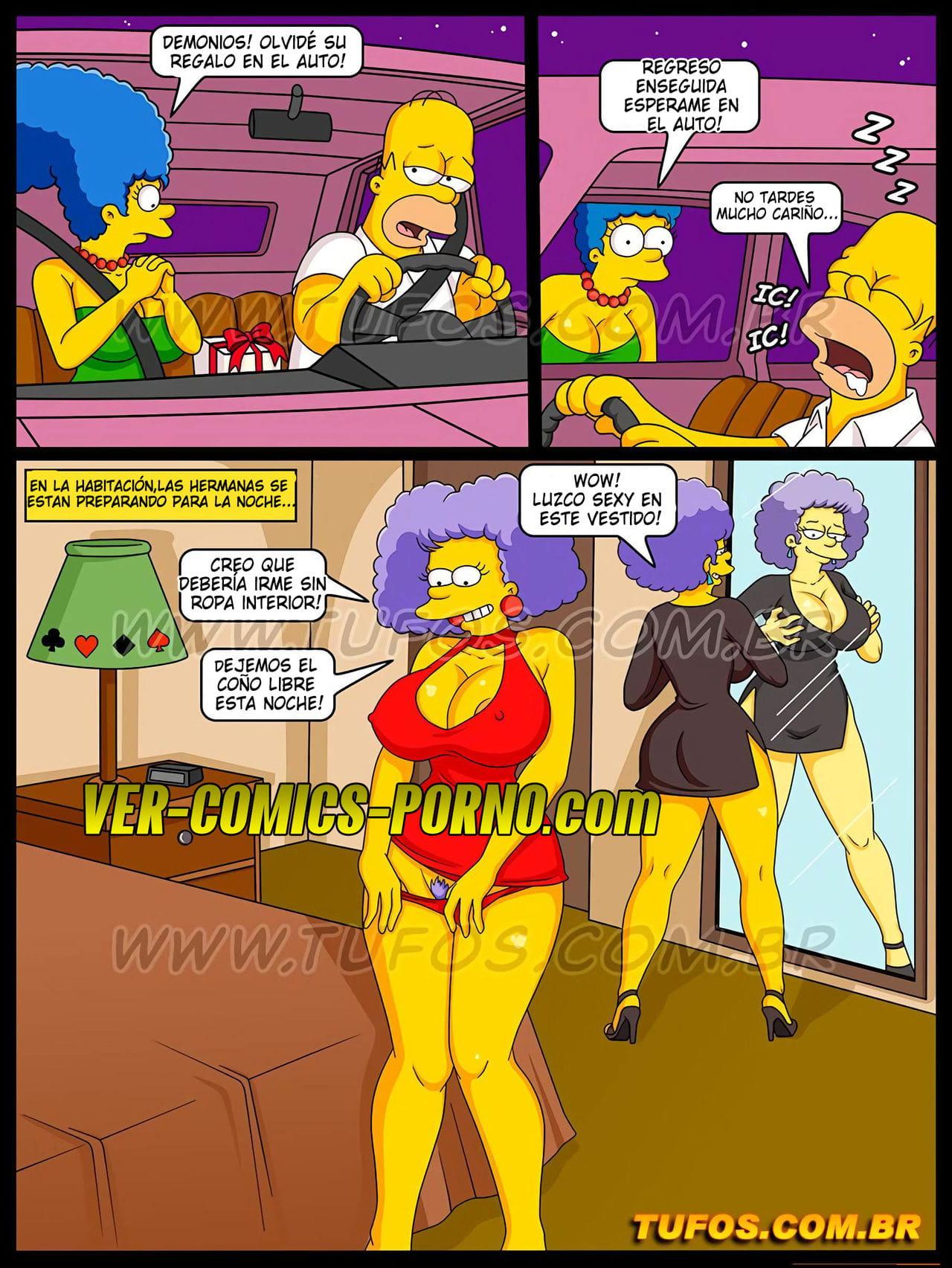 Porno the comic simpsons The Simpsons