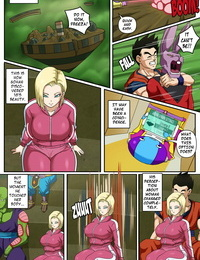 PinkPawg Android Legal and Gohan #2 Dragon Ball Super Ongoing