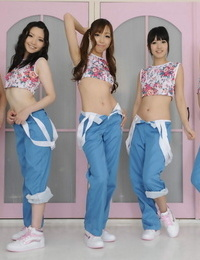 Hot asian teens spurt their trousers together - part 15