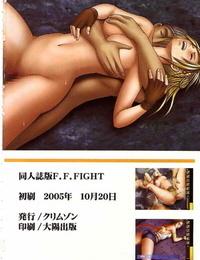 Red Comics Carmine F.F. Struggle Final Fantasy VI- VII- X-2 English Kizlan - part 3