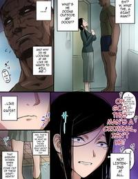 Mange Hitozuma to Kyokan - Wife x Giant English darknight