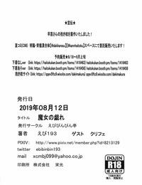C96 Ebibinbintei Ebi193 Majo no Tawamure Touhou Project