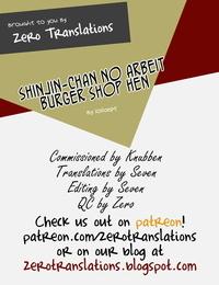LOLICEPT Shinjin-chan no Arbeit Burger Shop Hen COMIC Europa Vol. 12 English Zero Translations