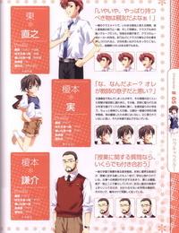 Moshimo Ashita ga Harenaraba official fanbook - part 4
