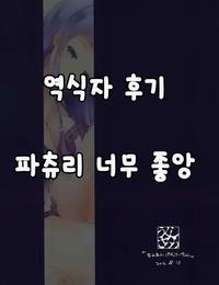 C90 Shirokurousa Sugiyuu Awaawa Patchouli-chan - 거품 거품 파츄리 씨 Touhou Project Korean