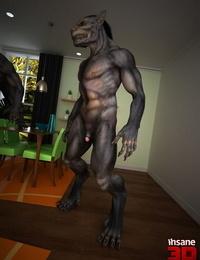 Insane3D- Werewolf Hook-up Assault