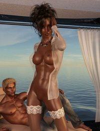 Abby – First Time Hook-up – Cosmics3DAngels
