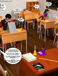 Fresh Arkham For Superheroines 3 - Back To… - part 2